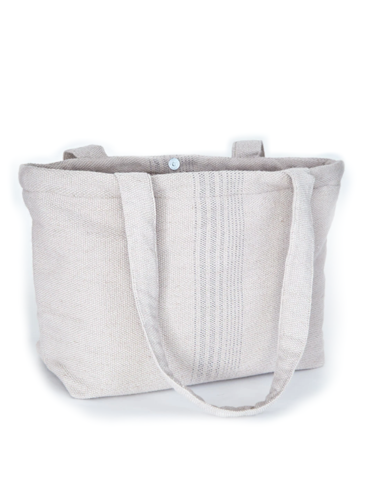 Weaver Green Antibes Bag - Grey