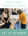 Half Term Eco Sewing Workshop
