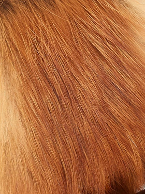 Natural red fur Tallis