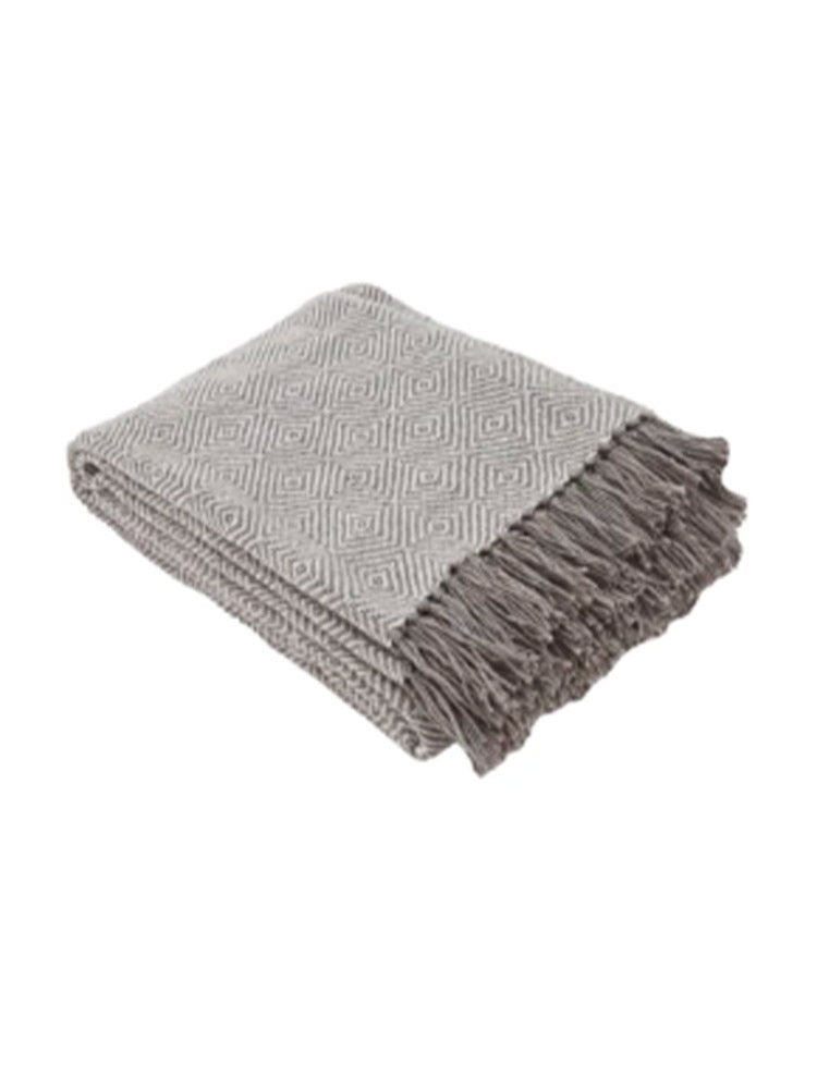 Weaver Green Diamond Blanket - Tabby