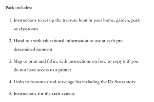 Treasure Hunt Activity Pack