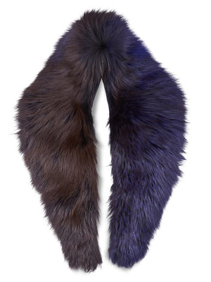 Scruff in Fur - Navy/Cobalt