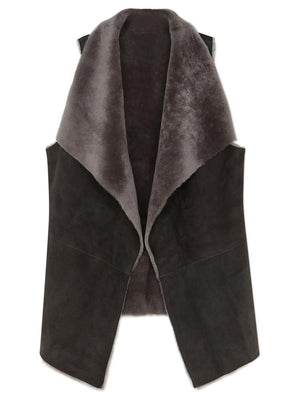 Waterfall Reversible Gilet - Grey