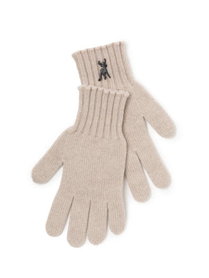 Cashmere Gloves - Biscuit