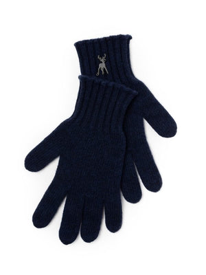 Cashmere Gloves - Navy
