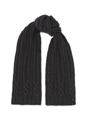 Chunky Scarf - Charcoal