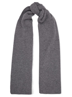 Cashmere Oversize Scarf - Charcoal - TALLIS