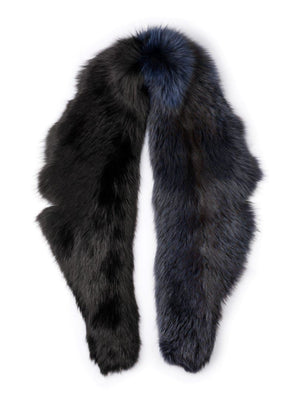Scruff in Two-Tone Fur - Blue/black - TALLIS