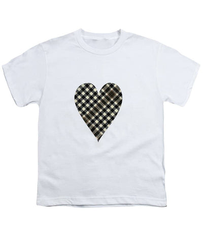 Burns Check Heart 1 - Youth T-Shirt