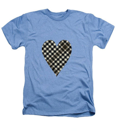 Burns Check Heart 1 - Heathers T-Shirt