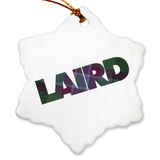 Laird Porcelain Ornaments