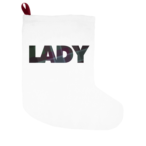 Lady Christmas Stockings