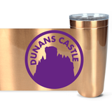 Dunans Castle Logo Purple Viking Tumblers