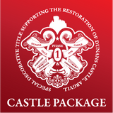 Decorative Title: Your Very Own Square foot of Dunans Castle (Castle Package)