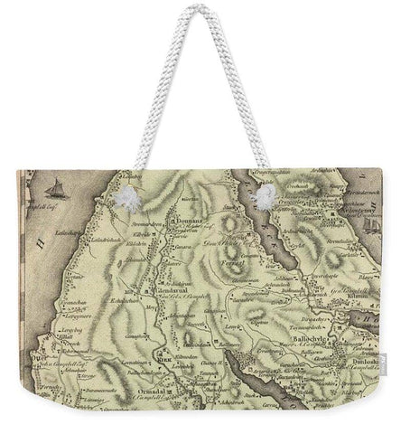 Antique Dounans Map - Weekender Tote Bag