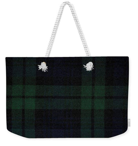 Blackwatch Tartan - Weekender Tote Bag