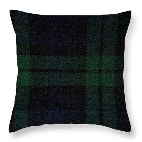 Blackwatch Tartan - Throw Pillow