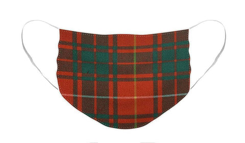 Bruce Ancient Tartan - Face Mask