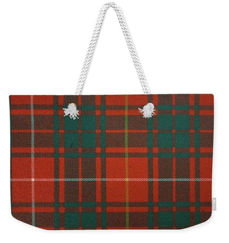 Bruce Ancient Tartan - Weekender Tote Bag