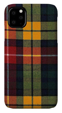 Buchanan Modern Tartan Swatch - Phone Case