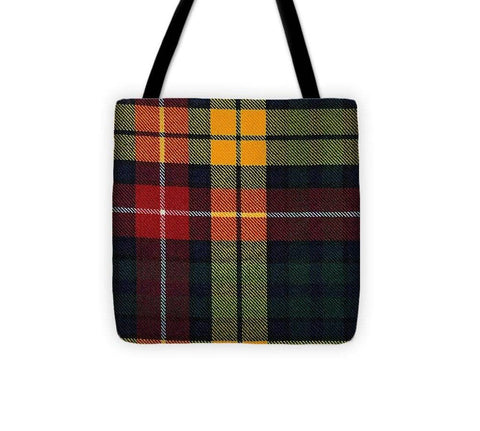 Buchanan Modern Tartan Swatch - Tote Bag