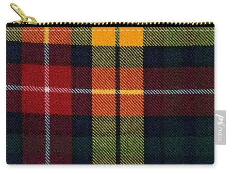 Buchanan Modern Tartan Swatch - Carry-All Pouch