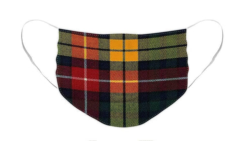 Buchanan Modern Tartan Swatch - Face Mask