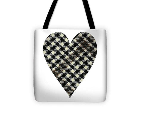Burns Check Heart - Tote Bag