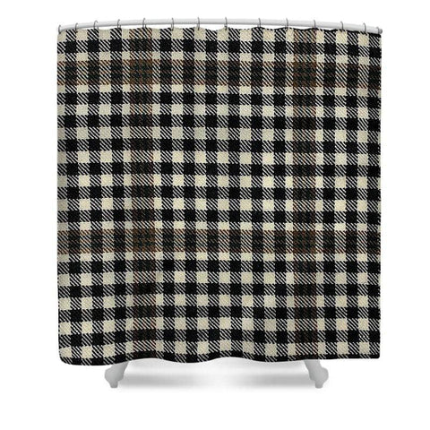 Burns Check Swatch - Shower Curtain