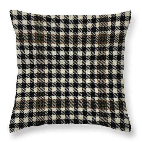 Burns Check Swatch - Throw Pillow