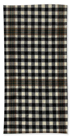 Burns Check Swatch - Beach Towel