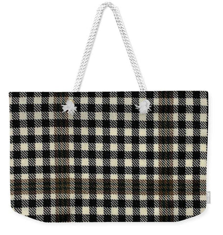Burns Check Swatch - Weekender Tote Bag