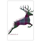 Stag Leaping, Dunans Rising Tartan, Magnets