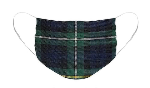 Campbell of Argyle Modern Tartan Swatch - Face Mask