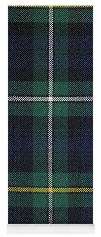 Campbell Of Argyle Modern Tartan Swatch - Yoga Mat