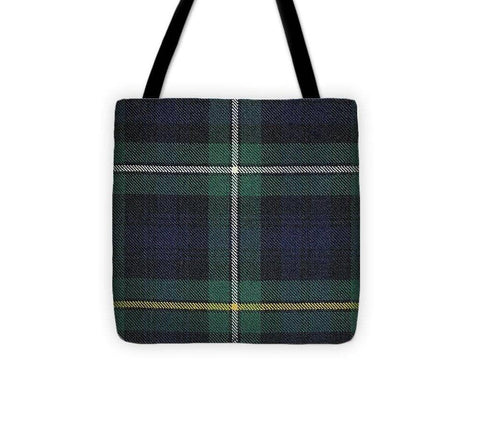 Campbell Of Argyle Modern Tartan Swatch - Tote Bag