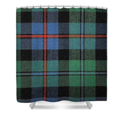 Campbell Of Cawdor Ancient Tartan Swatch - Shower Curtain