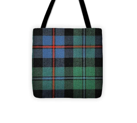 Campbell Of Cawdor Ancient Tartan Swatch - Tote Bag