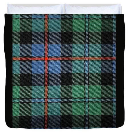 Campbell Of Cawdor Ancient Tartan Swatch - Duvet Cover