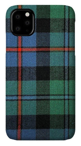 Campbell Of Cawdor Ancient Tartan Swatch - Phone Case