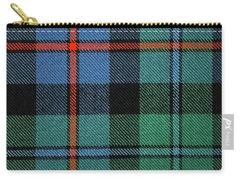 Campbell Of Cawdor Ancient Tartan Swatch - Carry-All Pouch
