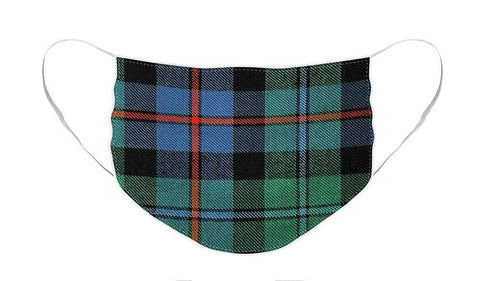 Campbell of Cawdor Ancient Tartan Swatch - Face Mask