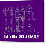 Castle Outline - Canvas Print