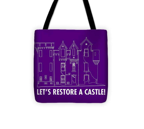 Castle Outline - Tote Bag