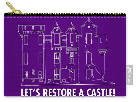 Castle Outline - Carry-All Pouch