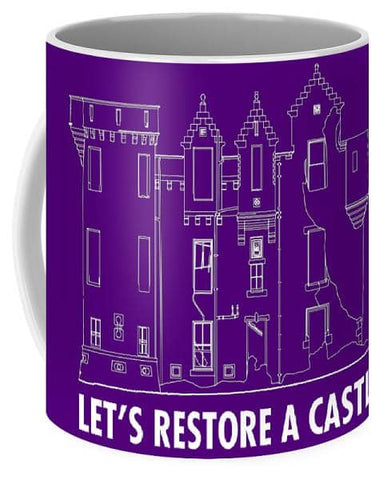 Castle Outline - Mug