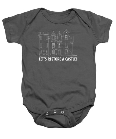Castle Outline - Baby Onesie