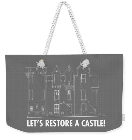 Castle Outline - Weekender Tote Bag