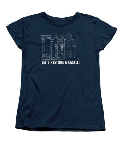 Castle Outline - Women's T-Shirt (Standard Fit)