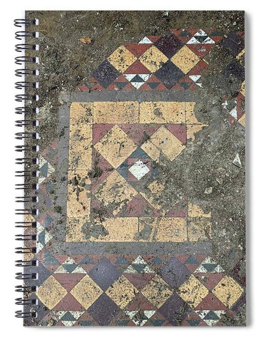 Castle Tiles - Spiral Notebook